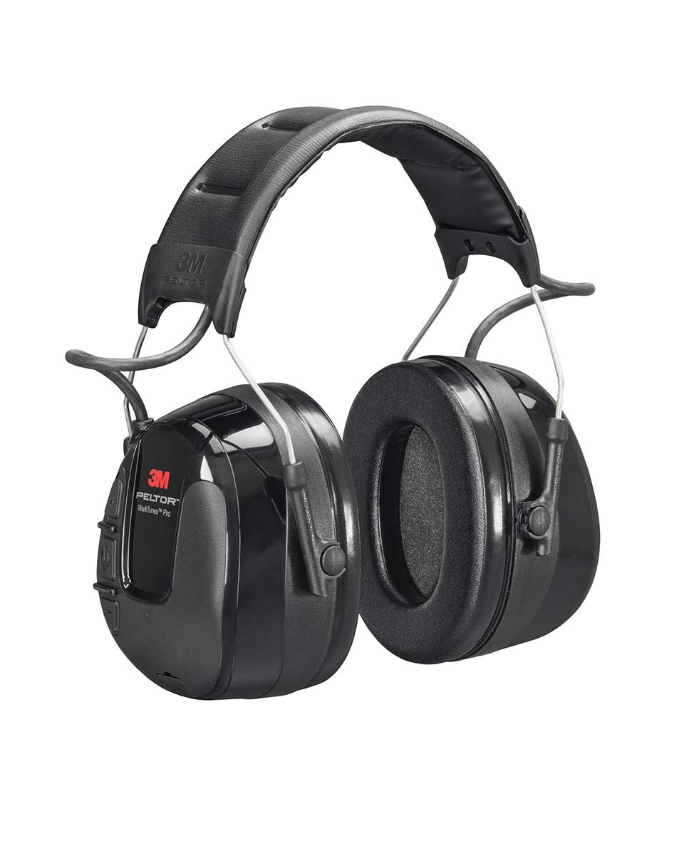 "3M™ Peltor™ Ecouteurs audio avec protection auditive avec radio FM ""Work Tunes Pro"""