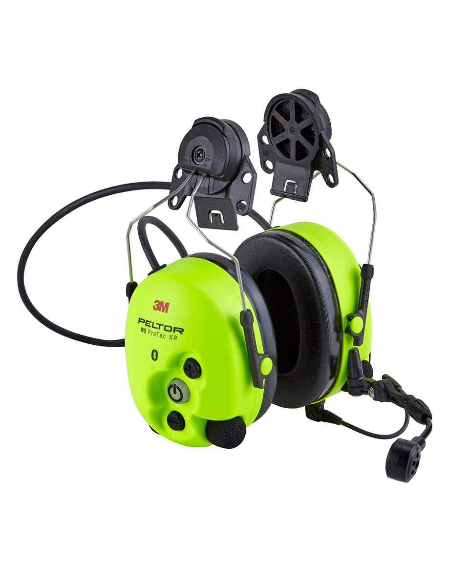 3M Peltor WS ProTac XP Forestry Coquilles antibruit Bluetooth HiVis