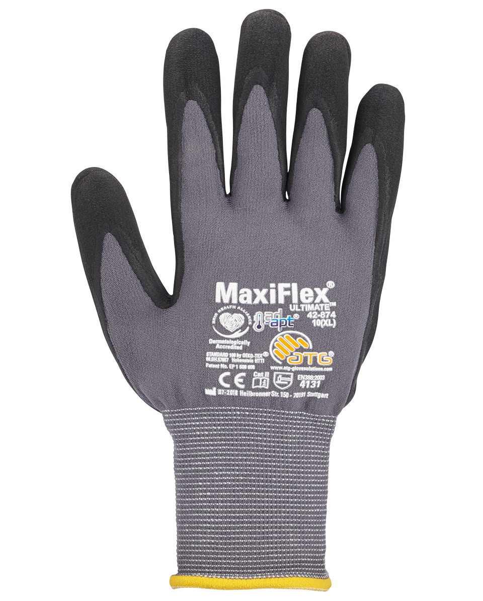Gants MaxiFlex Ultimate AD-APT en nylon Image 2