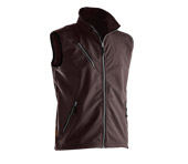 Gilet softshell JOBMAN 7502 marron