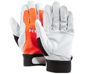 Gants forestiers Forest Grip de KOX, orange