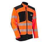 Veste technique X-treme Vario orange signalétique/noir