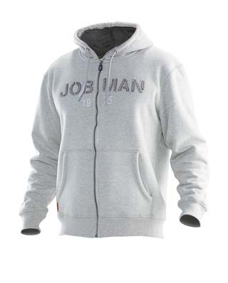Sweat-shirt à capuche JOBMAN 5154 gris