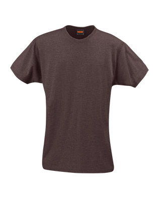 T-shirt dame JOBMAN 5265 marron