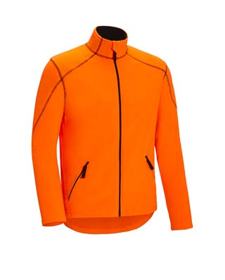 Veste polaire orange